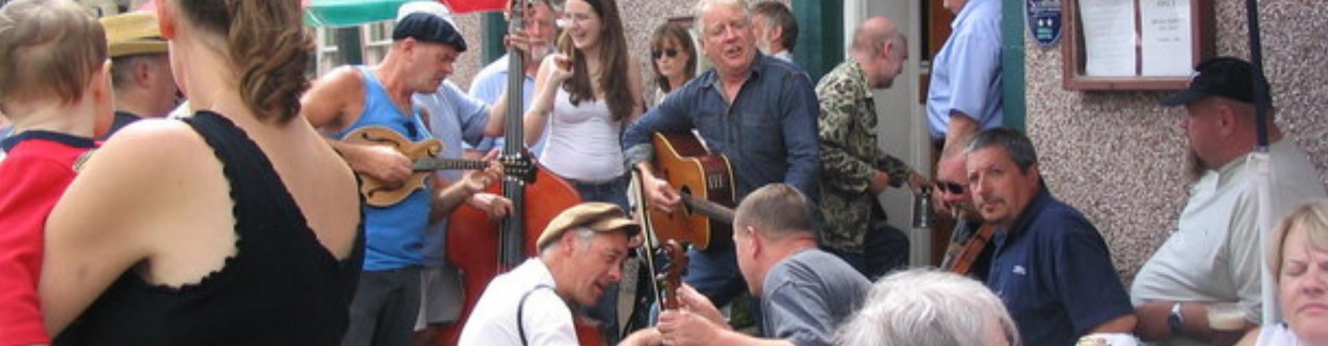 Newcastleton Riverview music festival